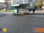 Mercato di Como senza ambulanti
