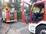 incendio abitazione di inverigo pompieri