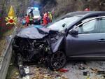 incidente pian del tivano auto moto centauro morto sul colpo