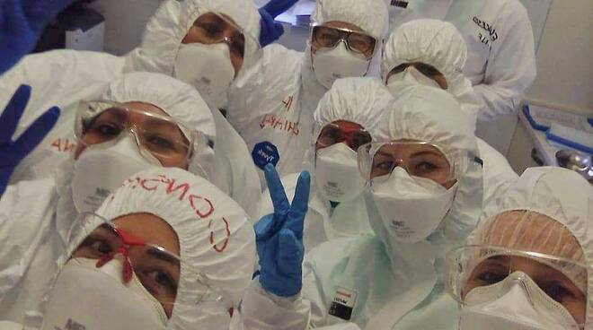 post di attilio fontana per paziente salvato al cof di Lanzo Intelvi da crisi respiratoria