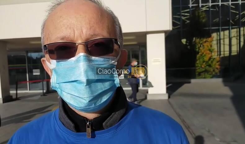 sciopero infermieri presidio esterno sant'anna di como per rinnovo contratto