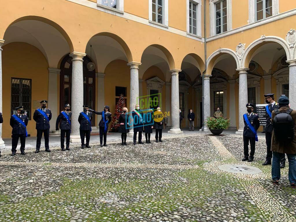 Cambio della guardia alla polizia locale di Como: da Ghezzo ai Aiello