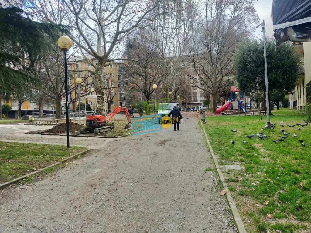 giardini via anzani como nuovi bagni pubblici automatici Azzi