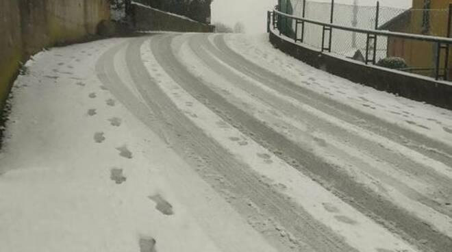 via amoretti monte olimpino como neve strada per asilo