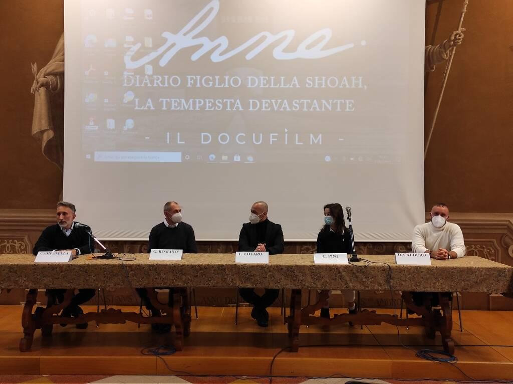 Conferenza stampa Colisseum spettacolo in streaming per giornata della memoria