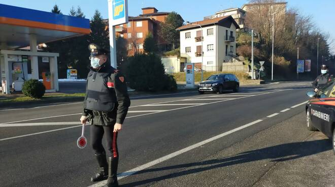 Como zona rossa i controlli sulle strade