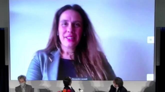 fontana presenta nuovi assessori regionali milano guidesi moratti e locatelli