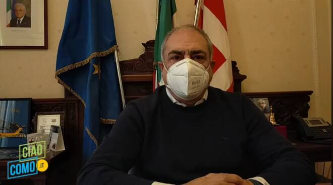 Presa diretta Sindaco Landriscina Como zona rossa