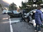 incidente sala comacina scontro tra auto traffico bloccato