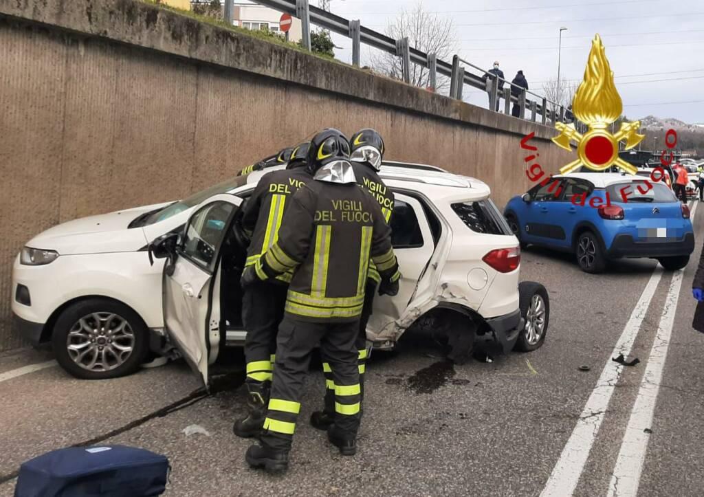 Incidente sottopasso Lazzago