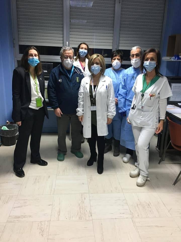 Le vaccinazioni anti-covid all'ospedale di Cantù questa domenica