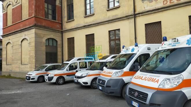 Viaggio CiaoComo all'interno della Croce Azzurra: mezzi, locali e servizi alla città