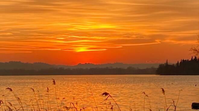 San Valentino tramonto pusiano