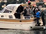 Le riprese della Cnn sul lago assieme ai pescatori Como Alpa