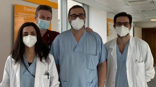 ospedale sant'anna equipe prof bignami per intervento raro al naso tumore ragazzo