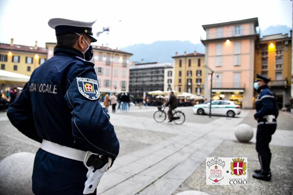 polizia locale controlli strade di como spaccio droga
