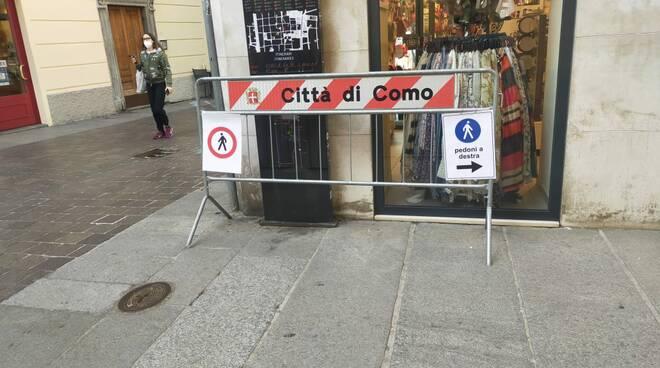 Provvedimenti ordinanza Como 26 febbraio