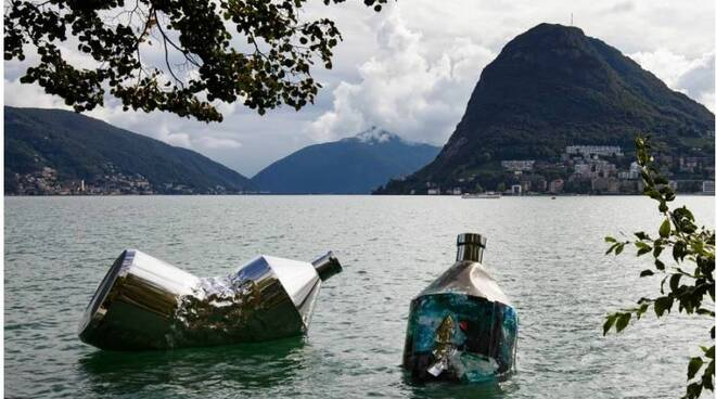 The Twin Bottles: Message in a Bottle, Lugano, Svizzera   © Giorgia Panzera