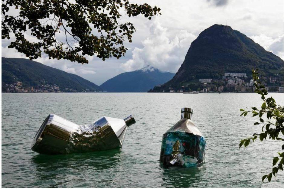 The Twin Bottles: Message in a Bottle, Lugano, Svizzera © Giorgia Panzera