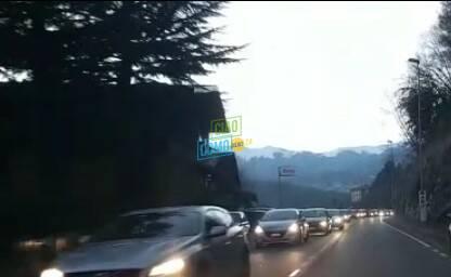 traffico per rientro dopo domenica di sole triangolo lariano strade