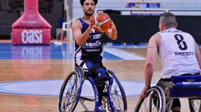 basket in carrozzina unipolsai briantea84 semifinale campionato a giulianova