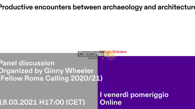 Productive encounters between archaeology and architecture
