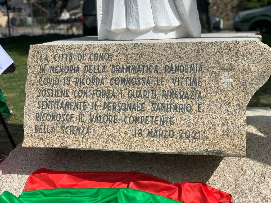 commemorazioni como e cantù per giornata nazional vittime covid