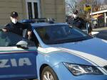Controlli strade Como polizia locale domenica arancione scuro