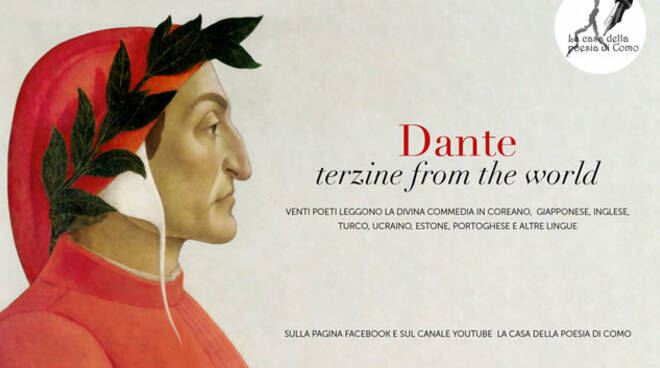 dantedì terzine fron the world Casa della Poesia di Como