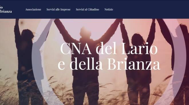 Online nuovo sito CNA Lario Brianza