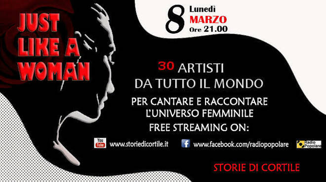 just like a woman 8 marzo
