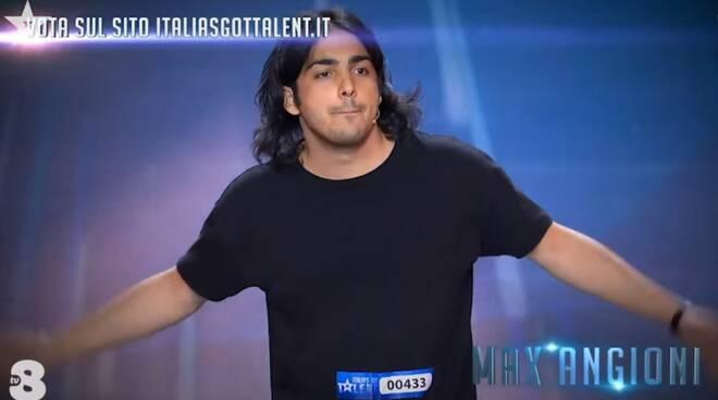 max angioni italia's got talent