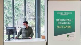 cernobbio presentato hub vaccini villa erba