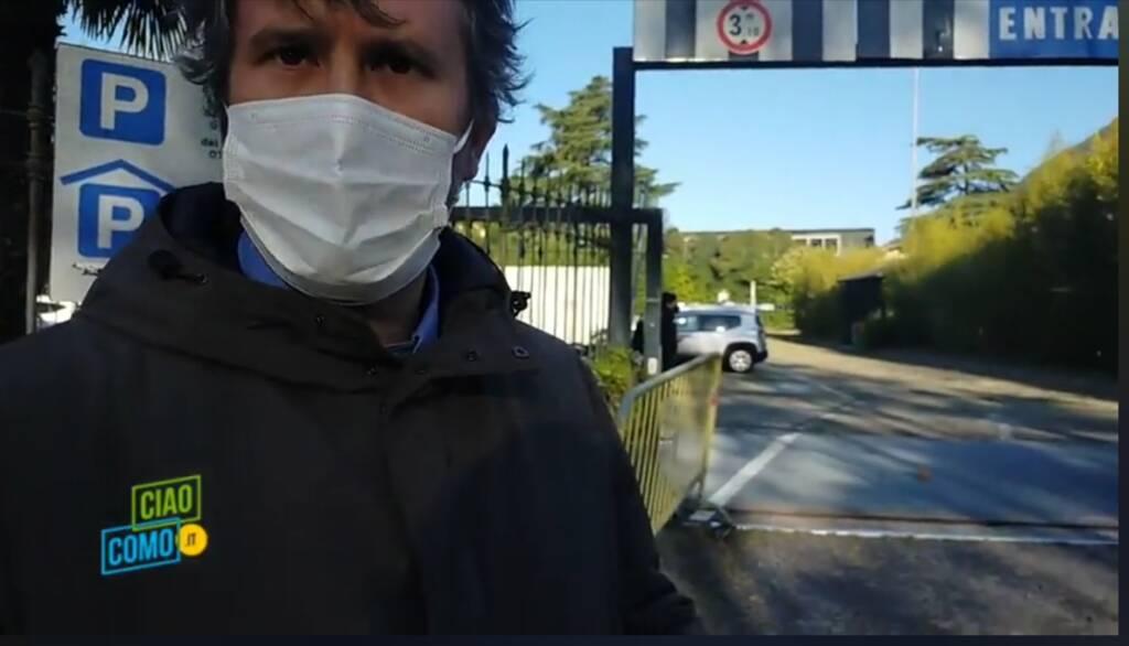 Sindaco Monti Cernobbio hub vaccinale villa erba