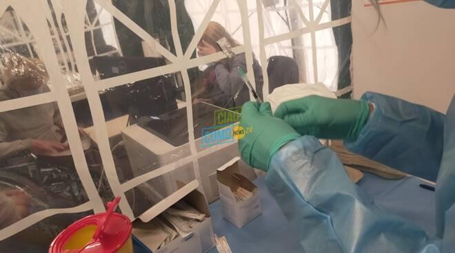 hub lurate caccivio bilancio dopo un mese ingresso struttura preparazio ne vaccini