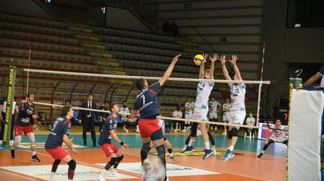 libertas cantù volley maschile a2 play off con taranto gara 1