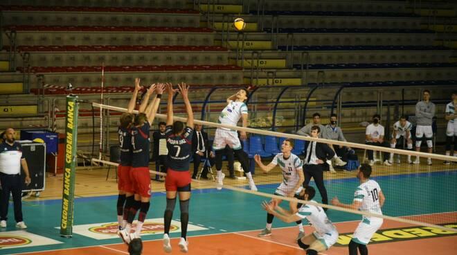 libertas cantù volley maschile a2 play off con taranto gara 1