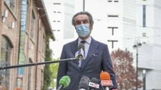 presidente regione fontana visita hub di milano fabbrica del vapore