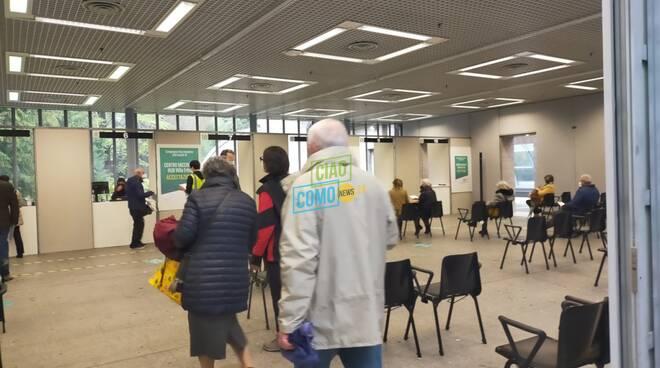 Primo giorno dei vaccini a Villa Erba di Cernobbio: accoglienza ed altre novità dell'Hub