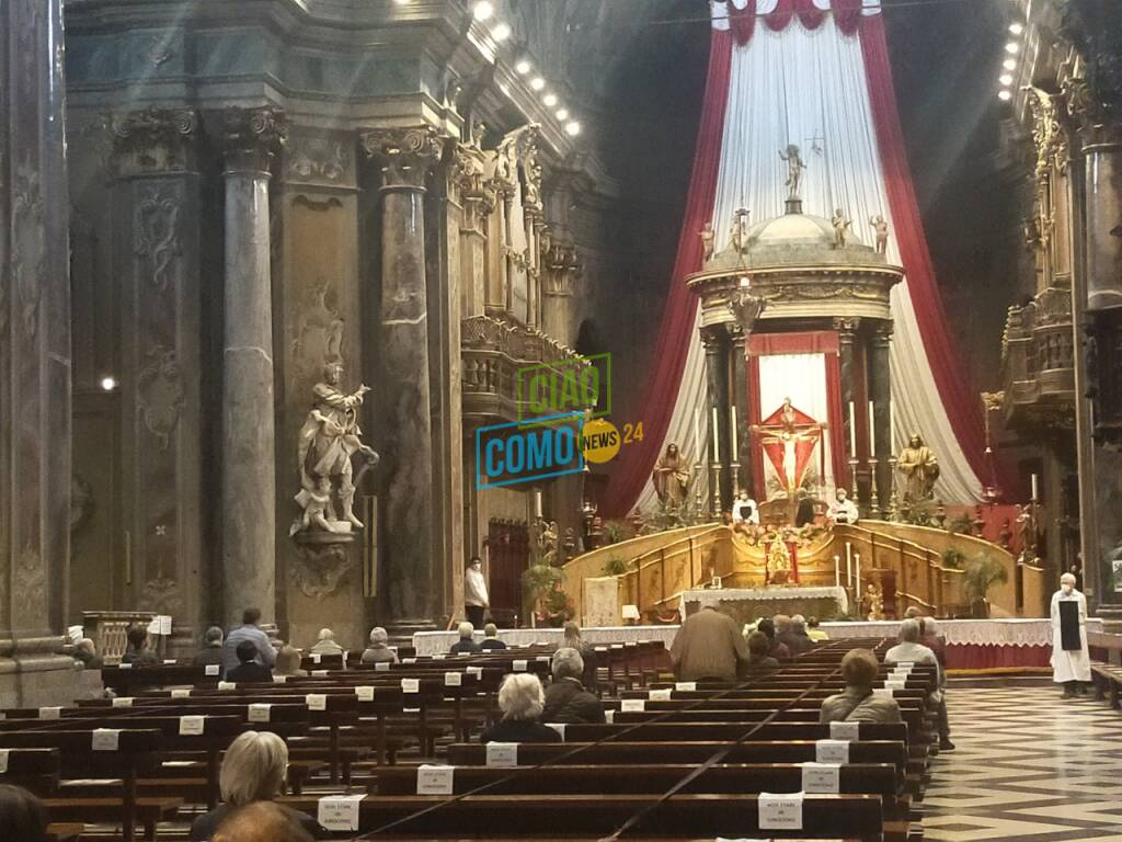 visita al crocifisso di como (no bacio) e viale varese senza bancarelle pasqua 2021