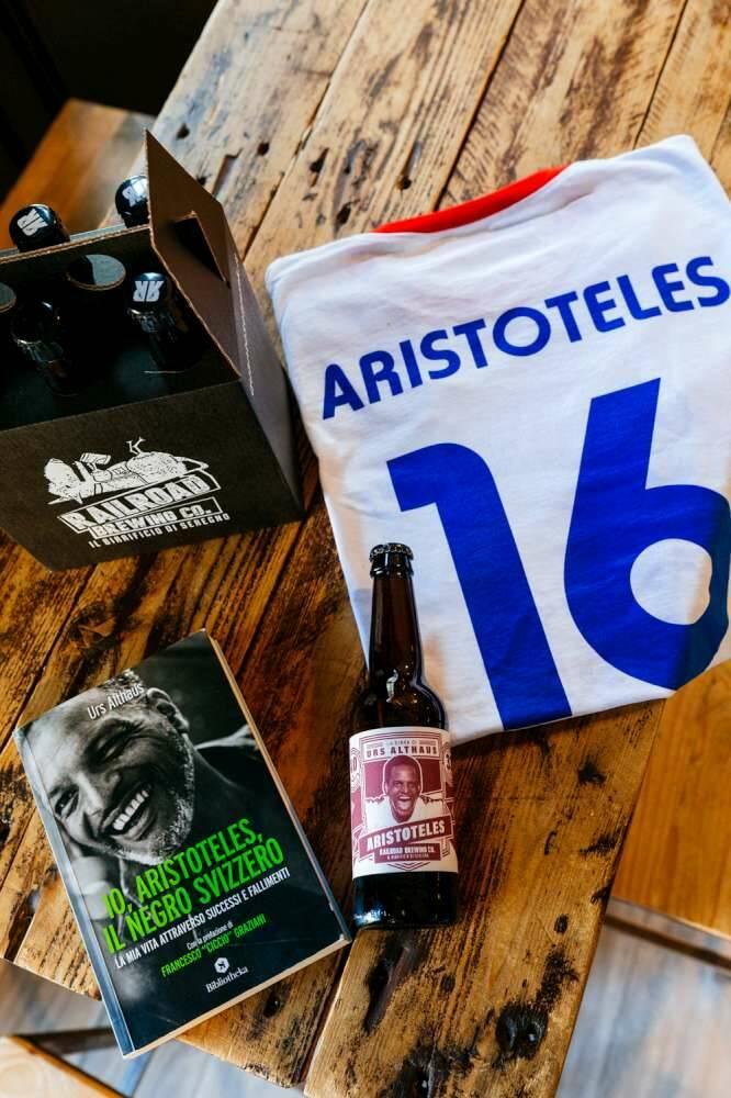 Aristoteles libro e birra al Birrivico