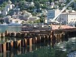 Cantiere delle paratie di Como: pali e vasche, inizia a prendere forma il nuovo lungolago