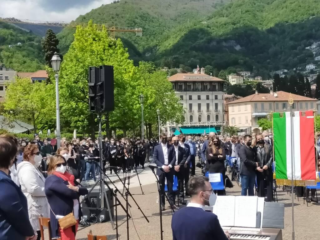Cernobbio - funerali di Filippo Mondelli