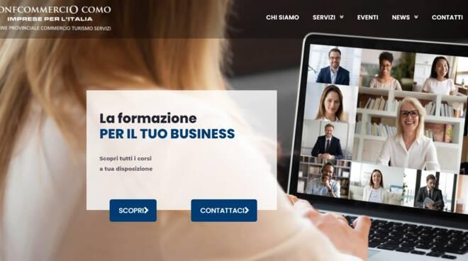 confcommercio como presentazione nuovo portale per servizi online