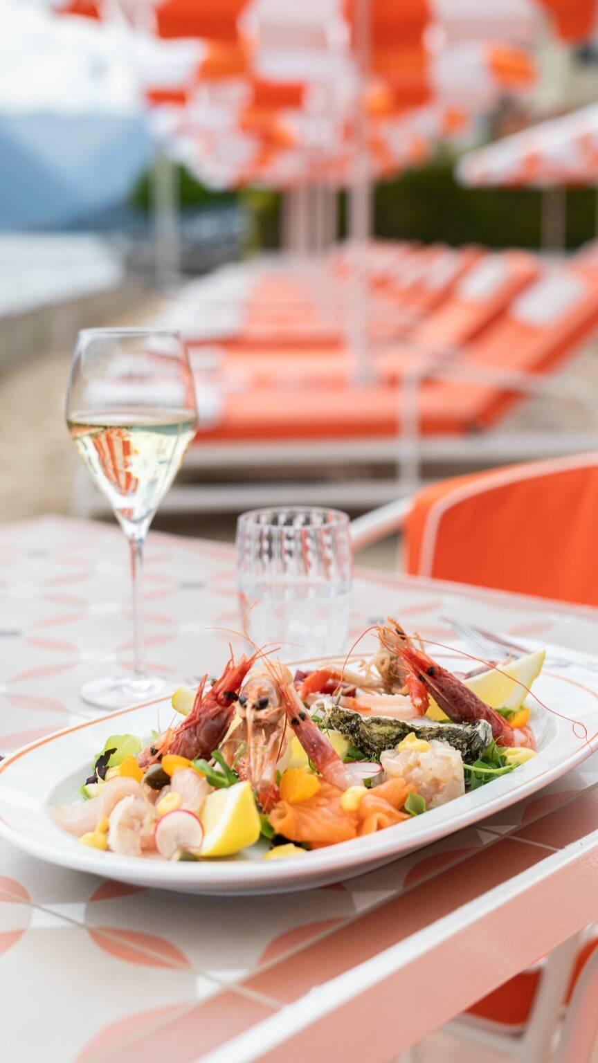 Nuovo ristorante Giacomo al Lago Grand Hotel Tremezzo