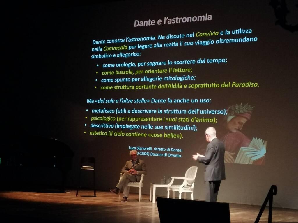 Festival della Luce Lake Como prima serata teatro sociale como
