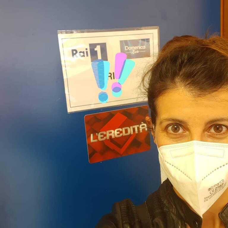 Dalila Lattanzi a l'Eredità maggio 2021