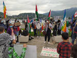 manifestazione per la pace in palestina piazza cavour