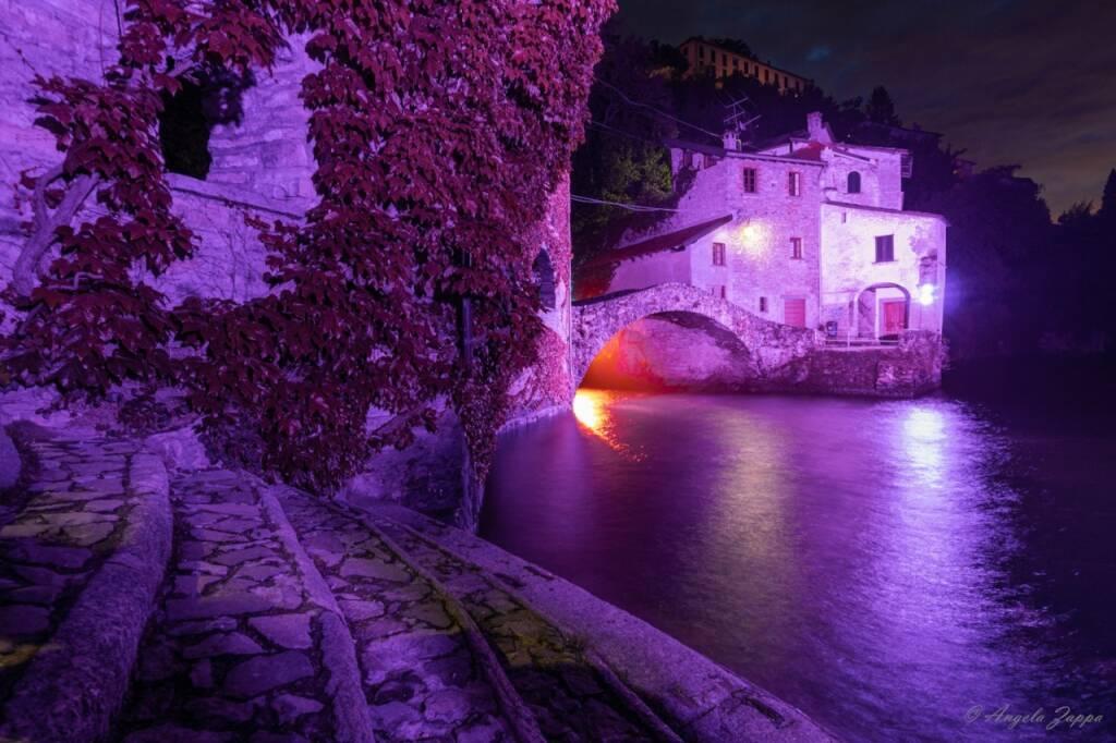 ponte civera nesso illuminato di viola per fibromialgia