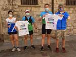 staffetta run 4 hope per raccogliere fondi solidarietà per airc oggi a como